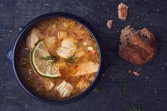 Hot-and-sour fish soup