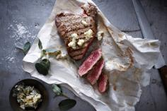 Entrecôte with Roquefort Nut Butter