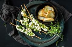 Fish Watercress Satay