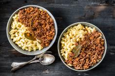 Minced Beef with Macaroni