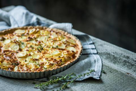 Kartoffel-Lauch-Quiche