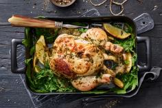 Farmer's chicken with lemon