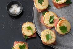 Cured Ham Appetizer Rolls