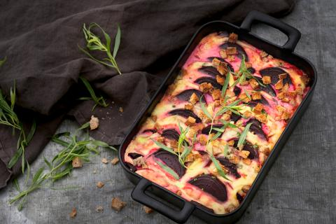 Beetroot bake