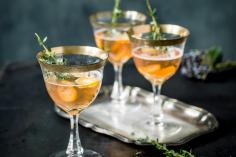 Champagne aux kumquats