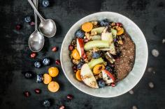 Chocolate chia bowl