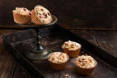 Chocolate Rhubarb Muffins