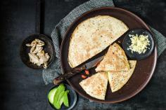 Quesadillas with chicken