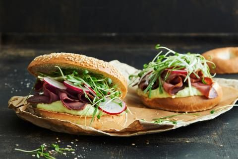 Roastbeef-Bagels