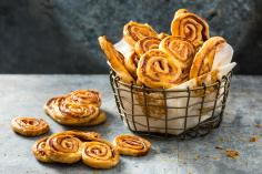 Cured Ham Palmiers