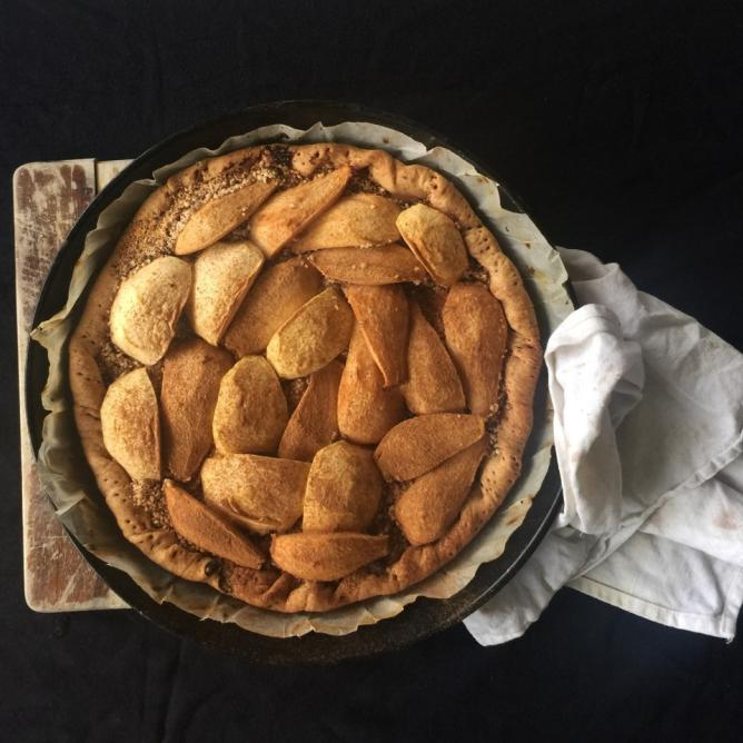 Vegan Pear Pie
