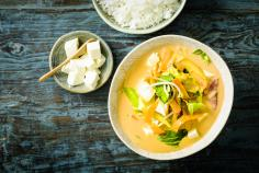 Silky Tofu Red Curry