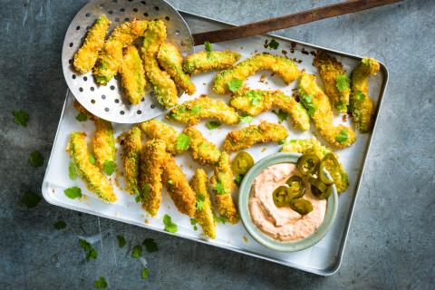 Avocado Chili Fries