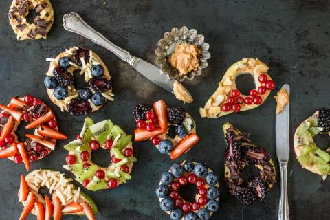 Bagel aux fruits