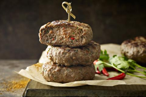 Spiced Beef Burger