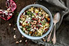 Coucous with Roasted Vegetables
