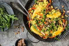 Millet & rocket salad with mango