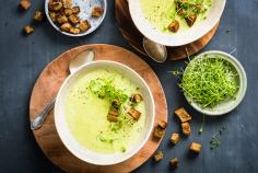 Broccoli-Kokosmilch-Suppe