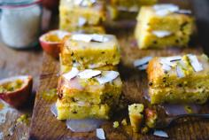 Mango Passion Fruit Slices