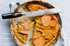 Sweet potato tart