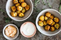 Fried Mozzarella Beads