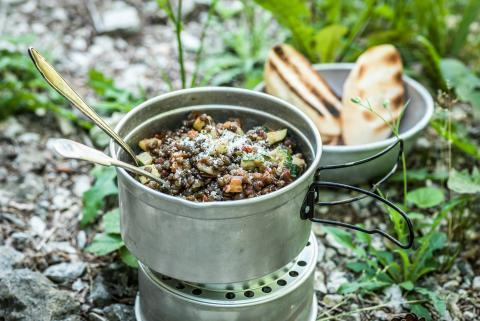 BBQ-Linsen One Pot