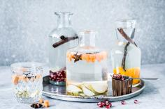 Winter Flavored Waters