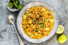 Curry de courge à l'indienne
