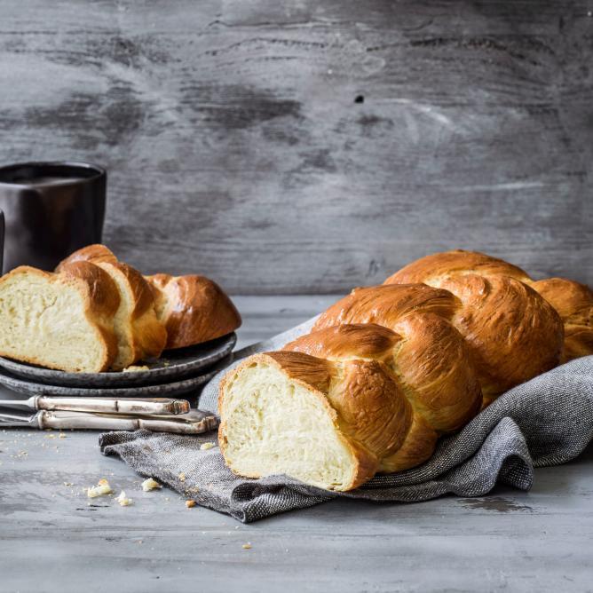 Zopf (plaited bread)