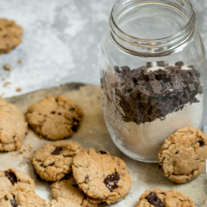 Cookie Mix im Glas
