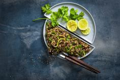 Lime & quinoa salad