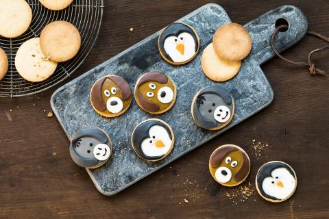 Animaux en biscuits