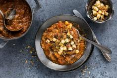 Beef ragout with apples