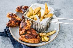 Chicken wings with honey and paprika
