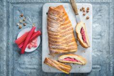 Rhubarb Braid Bread