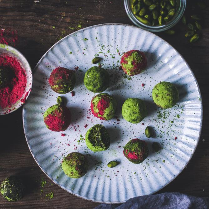 Matcha Energy Bliss Balls