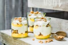 Yoghurt & lemon trifle