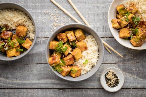 Sweet Chili-Tofu