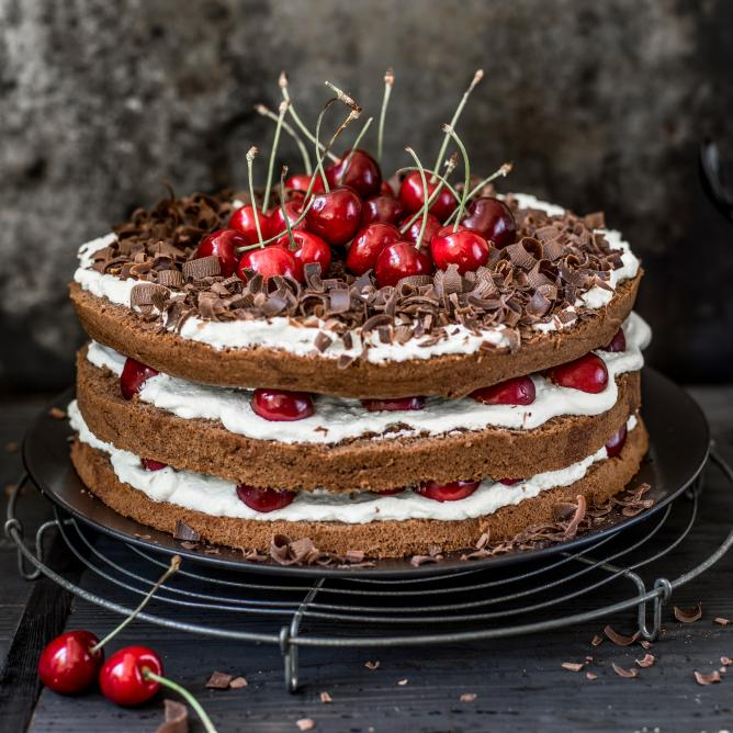 Summer Black Forest Cake