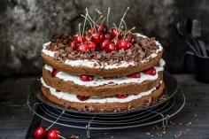 Summery Black Forest gateau