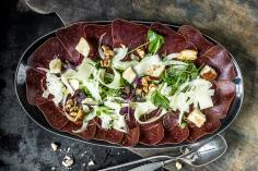 Air-dried beef carpaccio