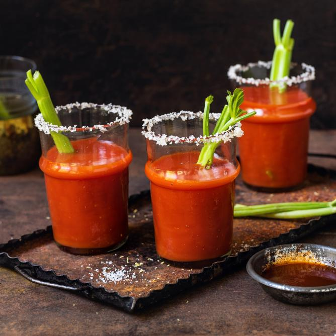 Warme Bloody Mary