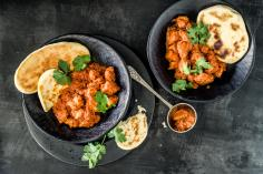 Butter chicken indien