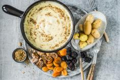 Oriental cheese fondue