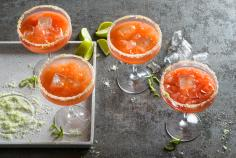 Margarita à l'orange sanguine