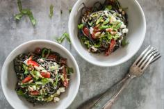 Black Bean Spaghetti au pesto d'avocat