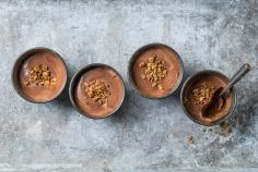 Caramel & chocolate mousse