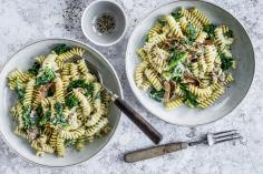 Winter fusilli