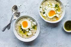 Salziges Porridge