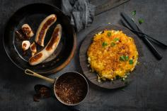 Bratwurst with roesti